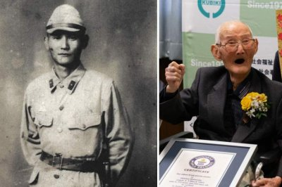 World's oldest living man, who said secret was to smile, dies at 112