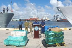 Coast Guard offloads largest narcotics haul in U.S. history