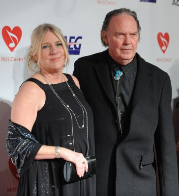 MusiCares honors singer Neil Young