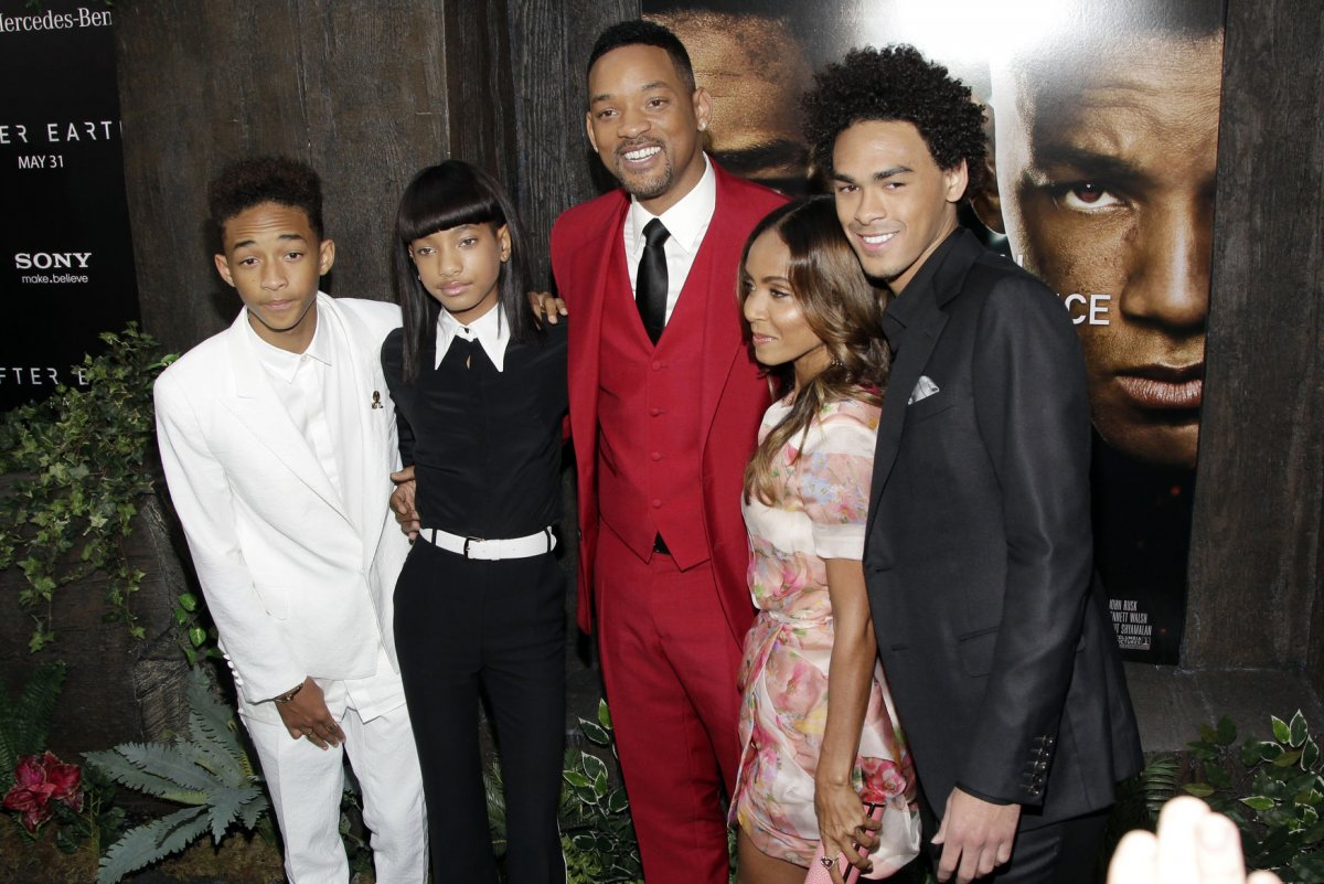 Will Smith with his kids