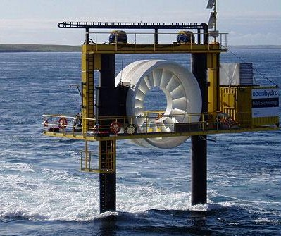 World's first grid-­connected tidal array almost complete