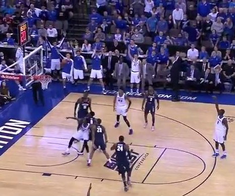 Marcus Foster powers No. 20 Creighton past Georgetown