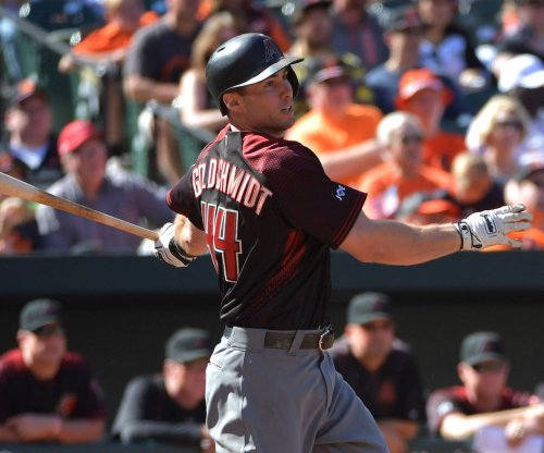 Arizona Diamondbacks hand Cleveland Indians first loss of 2017