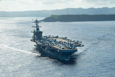USS Theodore Roosevelt returns to sea after coronavirus outbreak