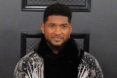 Usher expecting second child with girlfriend Jenn Goicoechea