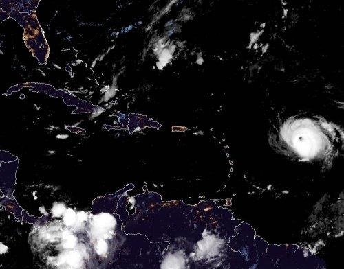 Hurricane Sam strengthens overnight