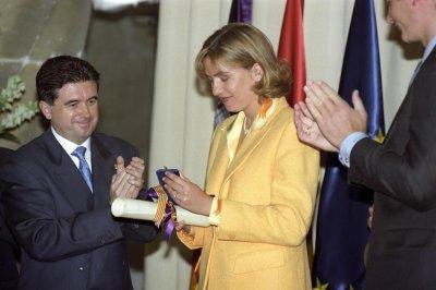Spain's King Felipe VI revokes sister's royal title