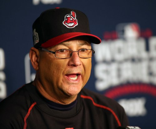 Cleveland Indians manager Terry Francona leaves bench due to illness