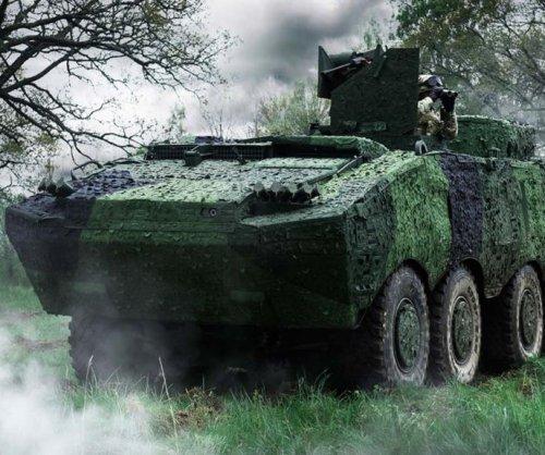 New German tanks getting Saab camouflage