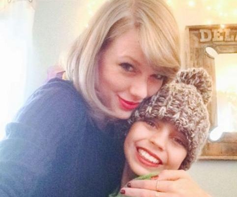 Taylor Swift surprises young cancer patient