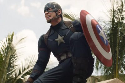 Captain America, Falcon and Scarlet Witch fight together in new 'Civil War' preview