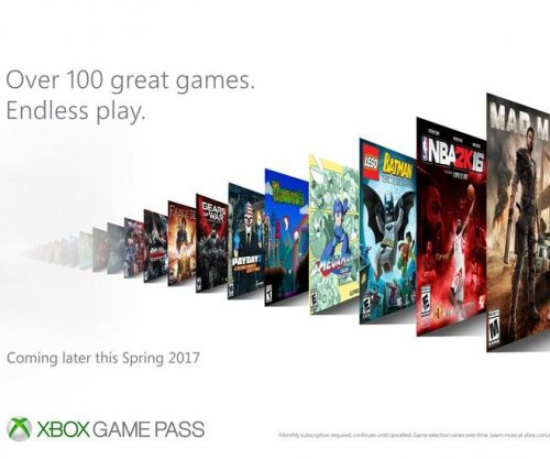 Microsoft announces subscription service Xbox Game Pass