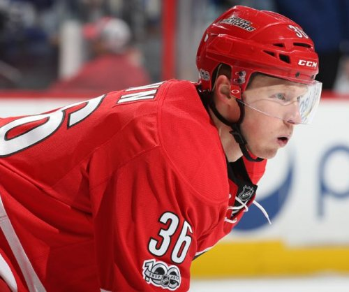 NHL: Carolina Hurricanes sign C Patrick Brown, D Jake Chelios to two-way deals