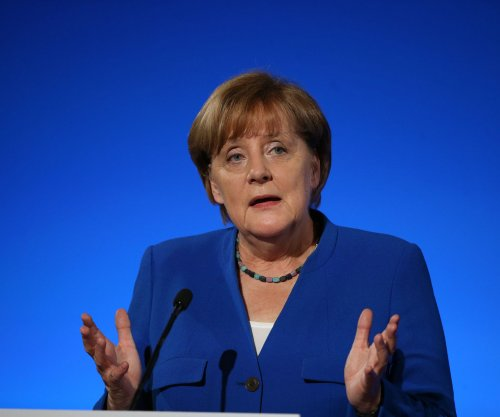 Viewers hand Merkel the victory in first TV debate with election rival
