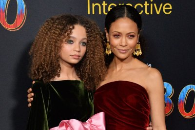 Thandie Newton bonds with daughter Nico ahead of 'Dumbo' premiere