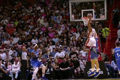 Heat's Jones Jr., Richardson rock Magic with powerful dunks