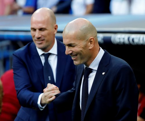 Real Madrid coach Zidane: Champions League goals 'laughable' vs. Club Brugge