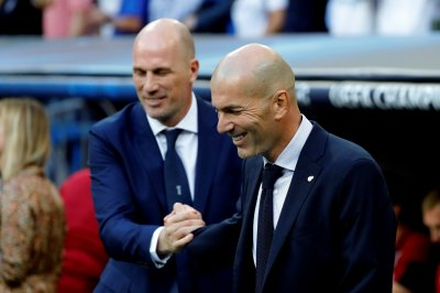 Real Madrid coach Zidane: Champions League goals 'laughable' vs. Club Brugge