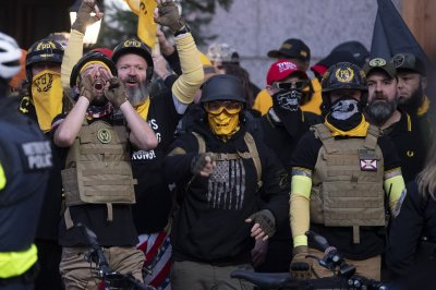 Proud Boys leader accused of violating release terms