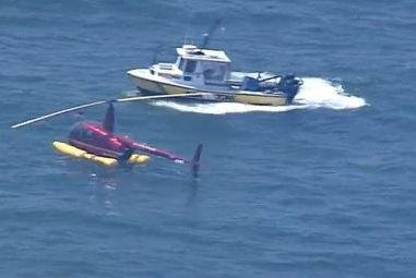 WWE's Shane McMahon unhurt after ocean helicopter rescue