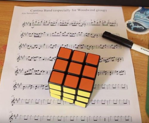 Man recreates 'Star Wars' song by solving a Rubik's cube