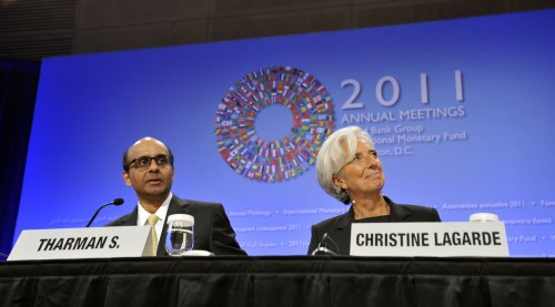 IMF official leaves in a huff