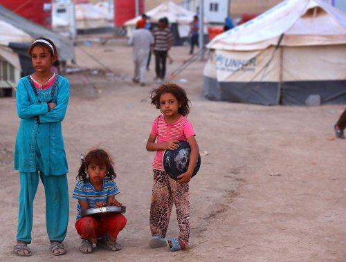 UN: Lack of funds may leave displaced people in Iraq, Syria in the cold