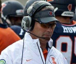 Illinois fires head football coach over allegations he mistreated players