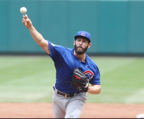 Chicago Cubs use power, Jake Arrieta's arm to trounce Atlanta Braves