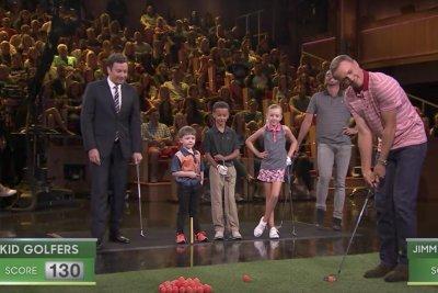 Presidents Cup: Kid golfers beat Jordan Spieth, Jason Day on Jimmy Fallon
