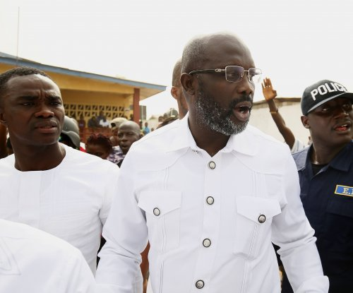 Former soccer star George Weah inaugurated as Liberia's president