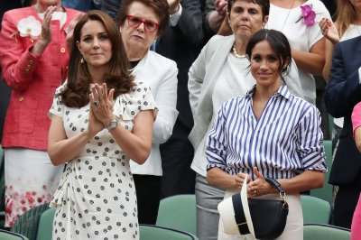 Meghan Markle, Kate Middleton spotted at Wimbledon