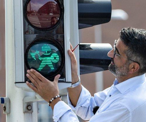 Danish city installs Viking-themed pedestrian crossing signals