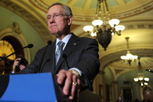 Reid: I 'misspoke' in Katrina-Sandy remark