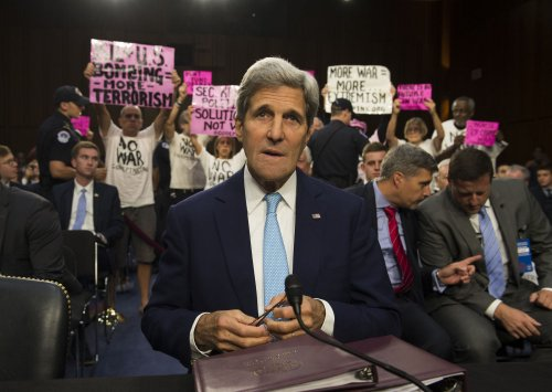 Kerry: No U.S. ground troops in fighting Islamic State