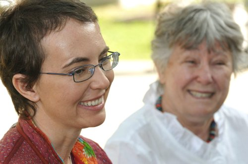 Smiling Giffords photos posted on Facebook