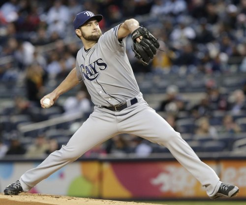 Tampa Bay Rays' Karns uses arm, bat to beat Philadelphia Phillies