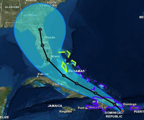 Florida governor declares state of emergency as Tropical Storm Erika lashes Hispaniola, Puerto Rico