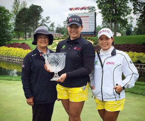 Ariya Jutanugarn moves up to No. 13 in Rolex Rankings