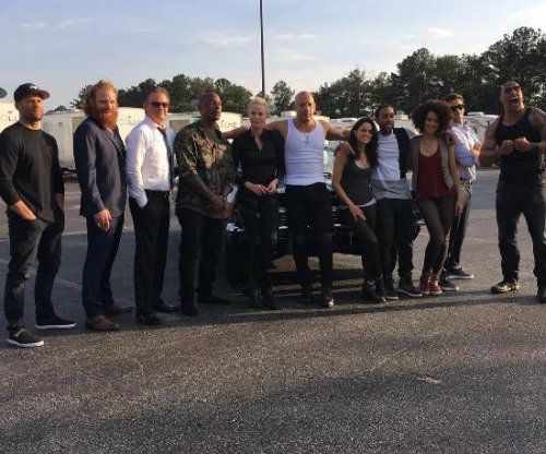 'Fast 8' stars assemble for cast photo, remember Paul Walker