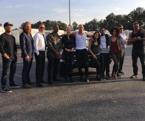 'Fast 8' stars assemble for cast photo, remember Paul Walker