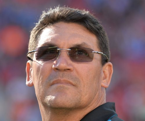 Carolina Panthers' Ron Rivera defends aggressive approach on drive