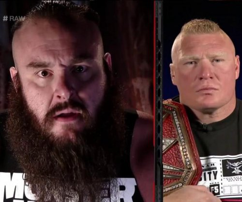 WWE Raw: Brock Lesnar, Braun Strowman have tense interview