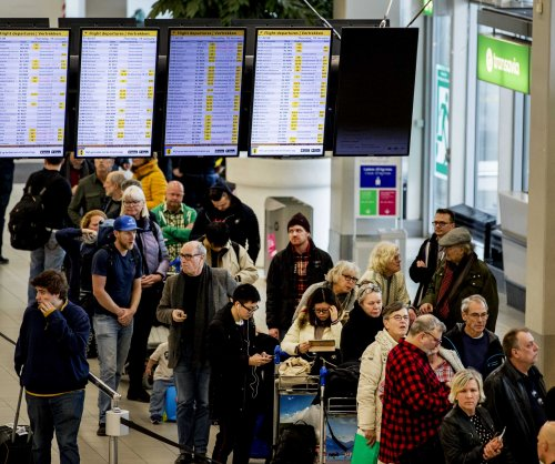 Flights, trains disrupted as storm lashes Europe