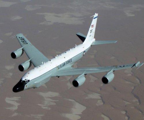 U.S. spy plane flies over Korean Peninsula ahead of Kim speech