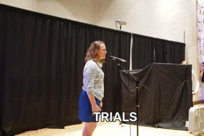 Minnesota woman dubbed world's fastest backward speller