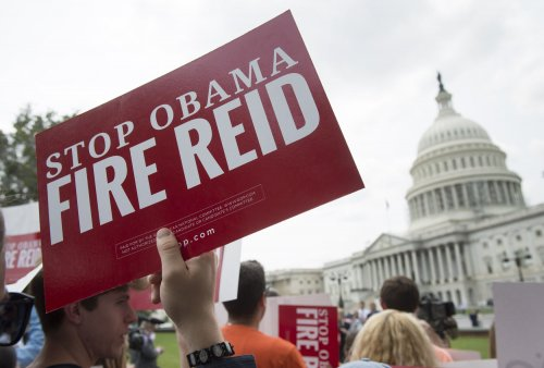 "GOP legislators urge public to ""fire"" Senate Majority Leader Harry Reid"