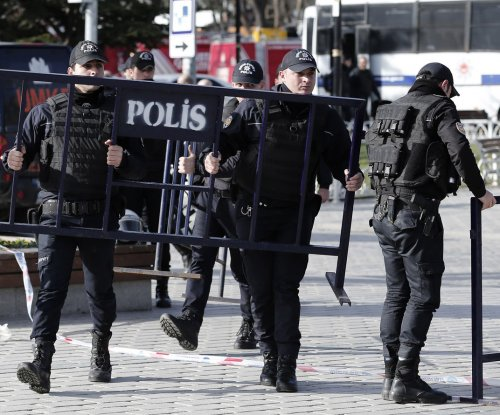 Four detained after car bomb kills 11 in Istanbul, including seven officers