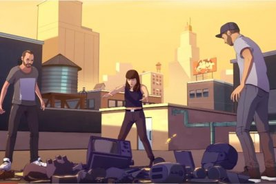 Chvrches, Hayley Williams 'Bury It' in animated video