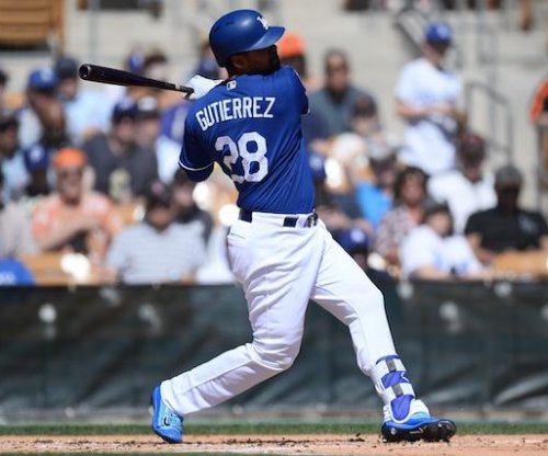 Los Angeles Dodgers place outfielder Franklin Gutierrez on DL